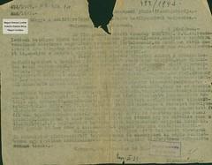 VII/6. Az alispán tájékoztatja a főszolgabírókat a zsidó törvények visszavonásáról, a származásuk miatt elbocsátott közalkalmazottak visszavételéről_0003