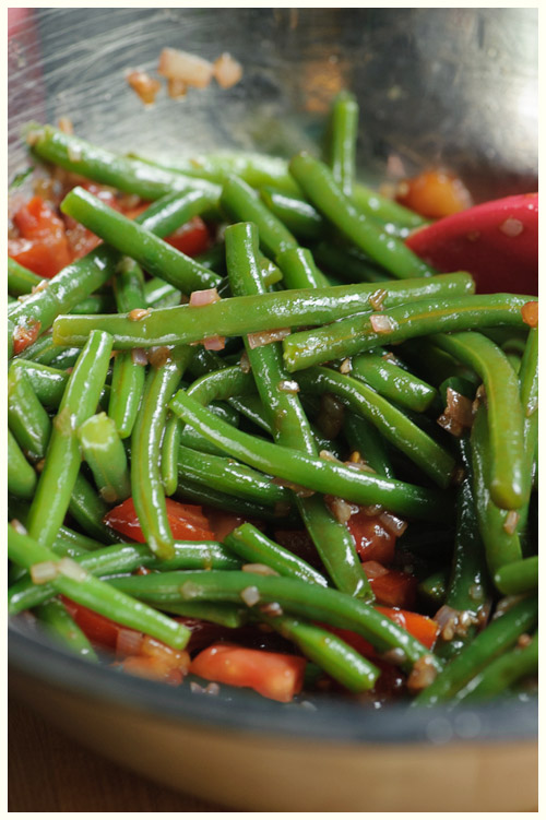 Green Bean & Balsamic Salad