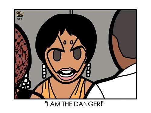 Little Robots Comic #143: Solange vs. JAY Z