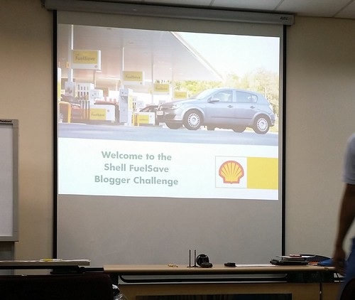 Shell FuelSave Blogger Challenge 2014