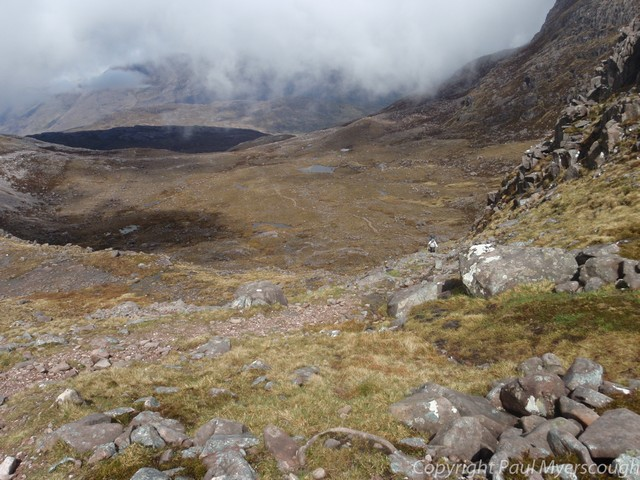 path near coire grannda