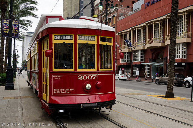 New Orleans Street Car - Canal Street