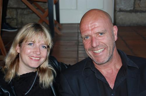Lauren Beukes and Richard de Nooy