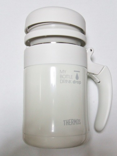 THERMOS MY BOTTLE DRINK drop 感想_栓の取り付け方