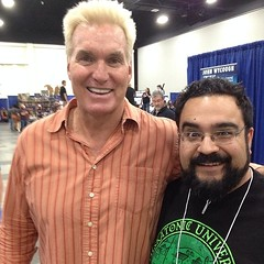 I met FLASH GORDON! #defenderoftheuniverse #hellsaveeveryoneofus #xcon #cons #comics #myrtlebeach