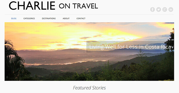 Meet the Nomads - Charlie Marchant of Charlie on Travel