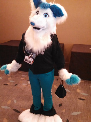 Furry fan at #BayCon2014.