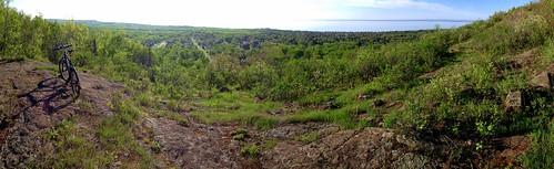 panorama duluth hawkridge bikecommute