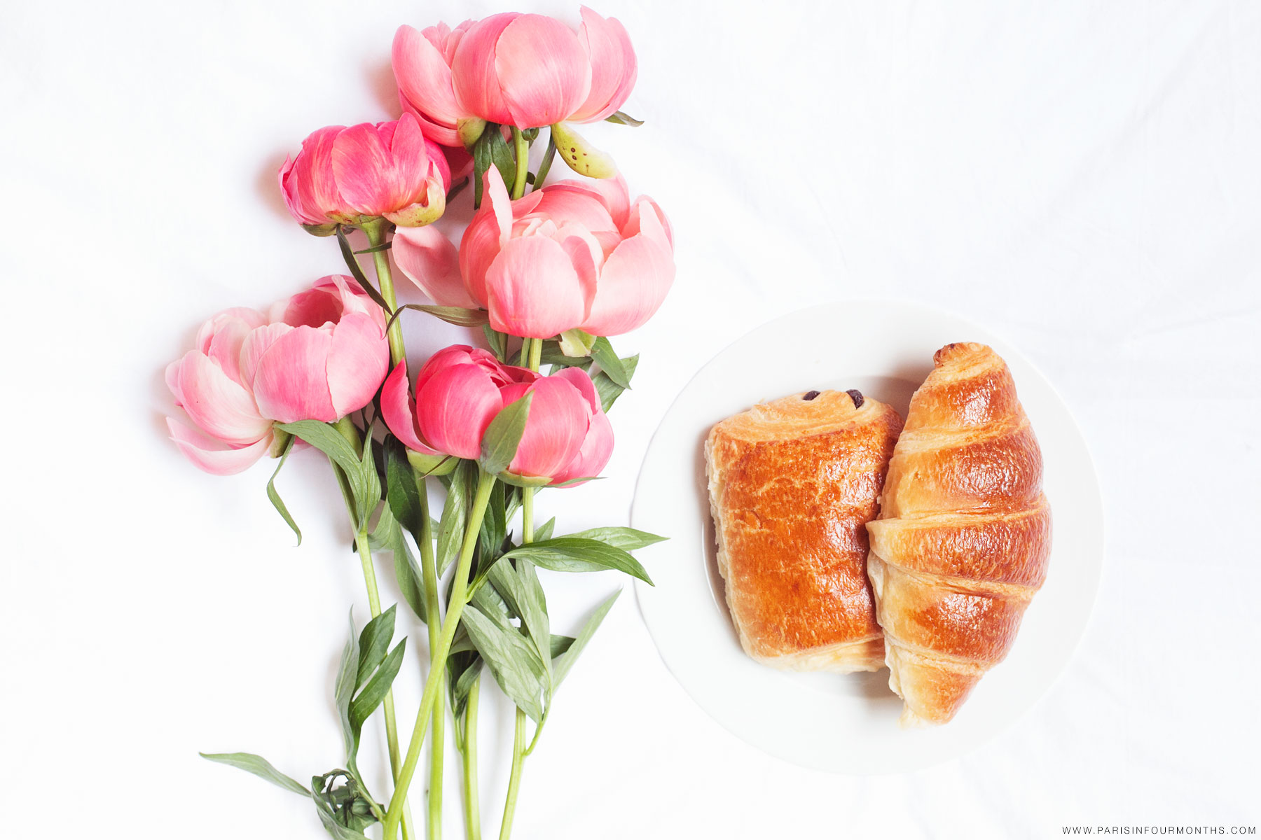 Breakfast in bed by Carin Olsson (Paris in Four Months)