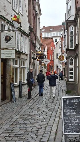 city germany deutschland town stones medieval cobbled bremen altstadt schnoor