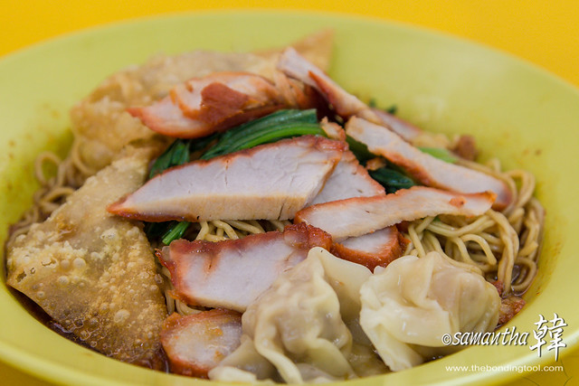 Golden Mile (Beach Road) Food Centre- Wanton Mee-9627