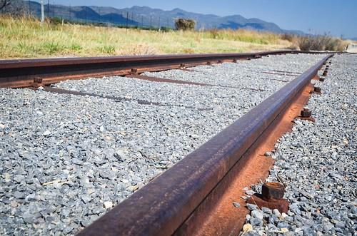 Railway near Grootfontein, Namibia