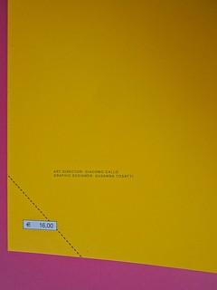 Golden boy, di Abigail Tarttelin. Mondadori 2014. Art director: Giacomo Callo, graphic designer: Susanna Tosatti; alla cop. ©Luka Knezevic; alla q. di cop. @Daniel Hambury. Risvolto della q. di cop. (part.), 1