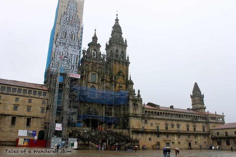 SANTIAGO DE COMPOSTELA - Plaza del Obradoiro - Catedral de Santiago de Compostela