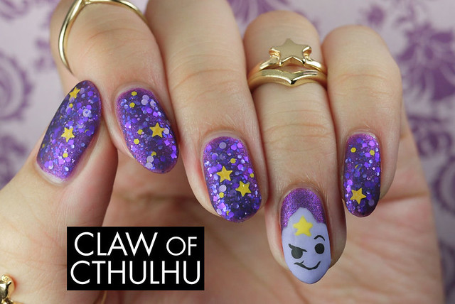 Digital Nails Lump Off! and Adventure Time LSP (Lumpy Space Princess) Feature Nail Art