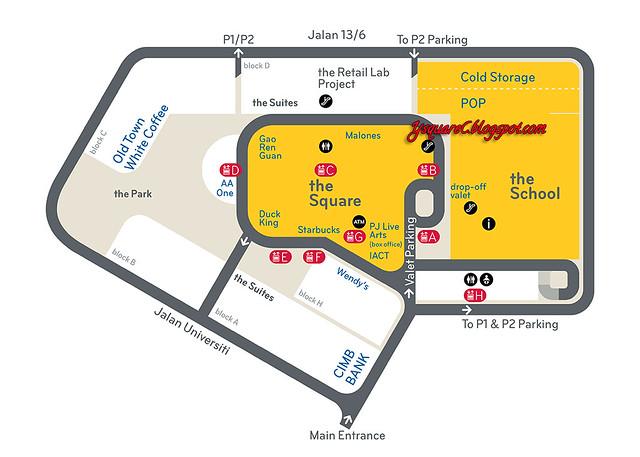 Jaya One Map