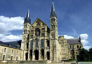 Image of Basilique Saint-Remi. reims basilique marne saintremi