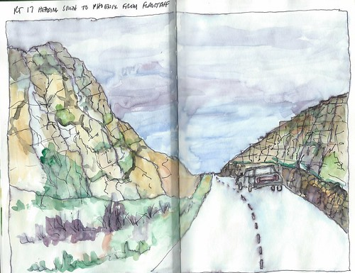 Rocks along I-17