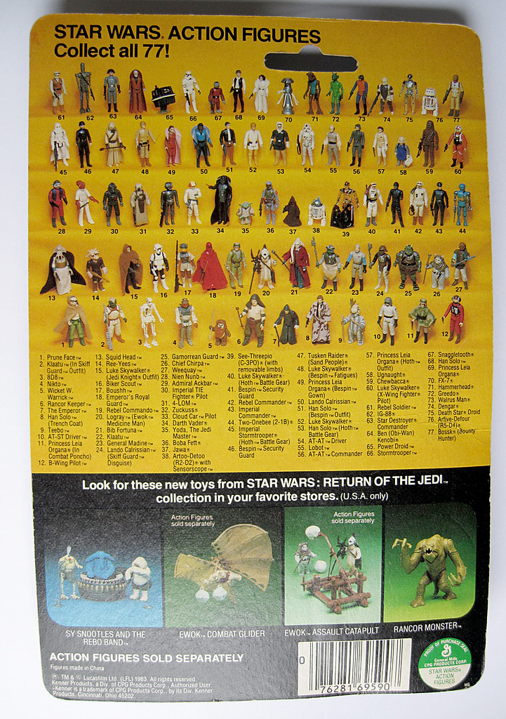 FS - Palitoy 12 back Die Cast card backs - loose figures & Polish Bootleg Silver Stormtrooper 14402974800_29beddda88_b