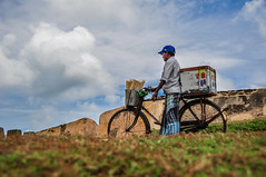 Ice Cream Seller - Galle Fort