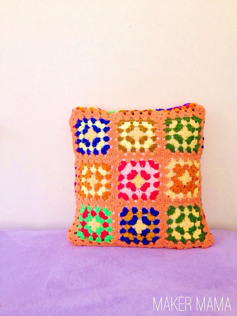 DIY Crochet Pillow
