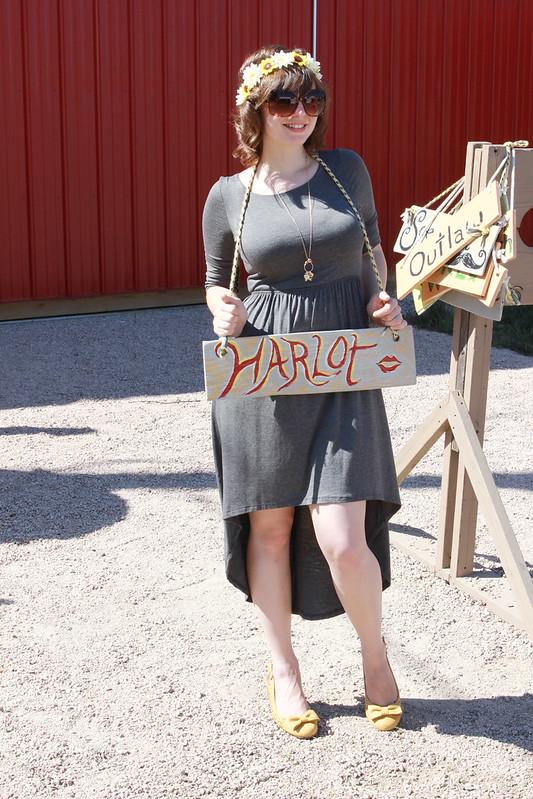 harlot, wooden sign, ren faire
