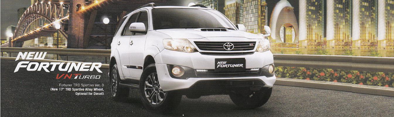Mobil Toyota New Fortuner di Jakarta