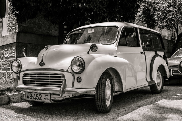 1960s Morris Minor 1000 Traveller