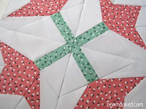 Paper Piecing Vintage - July