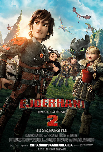 Ejderhanı Nasıl Eğitirsin 2 - How to Train Your Dragon 2 (2014)