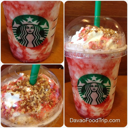 Strawberry Cheesecake Frappuccino Blended Beverage at Starbucks Abreeza  IMG_7354