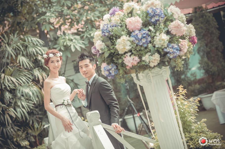 台北婚攝 青青花園食尚 婚禮紀錄 歐文 新祕K&T