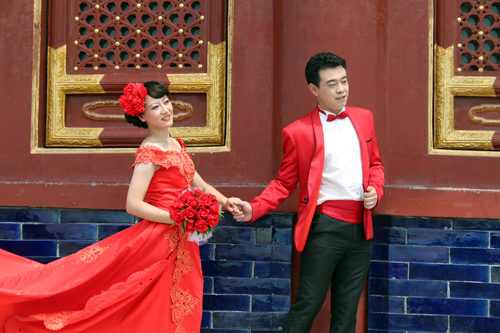 Chinese wedding, Temple of Heaven