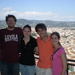 Luttmer_Rome_Summer09_On top of Duomo in Florence