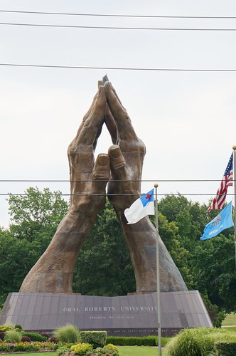 Large Praying Hands - Oral Roberts University - Tulsa, Oklahoma
