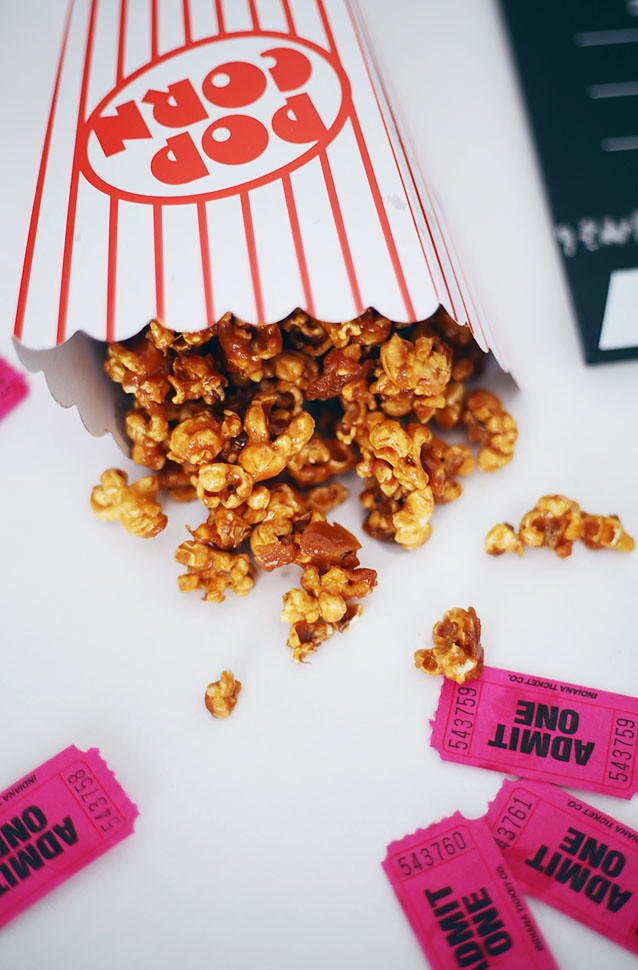Salted Caramel Popcorn Recipe What Olivia Did