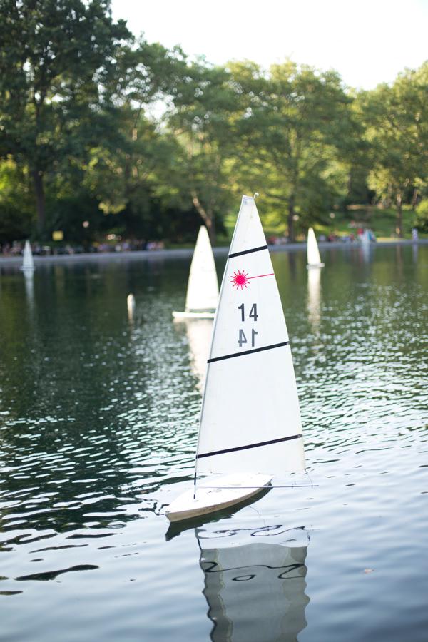Central Park Sailboats