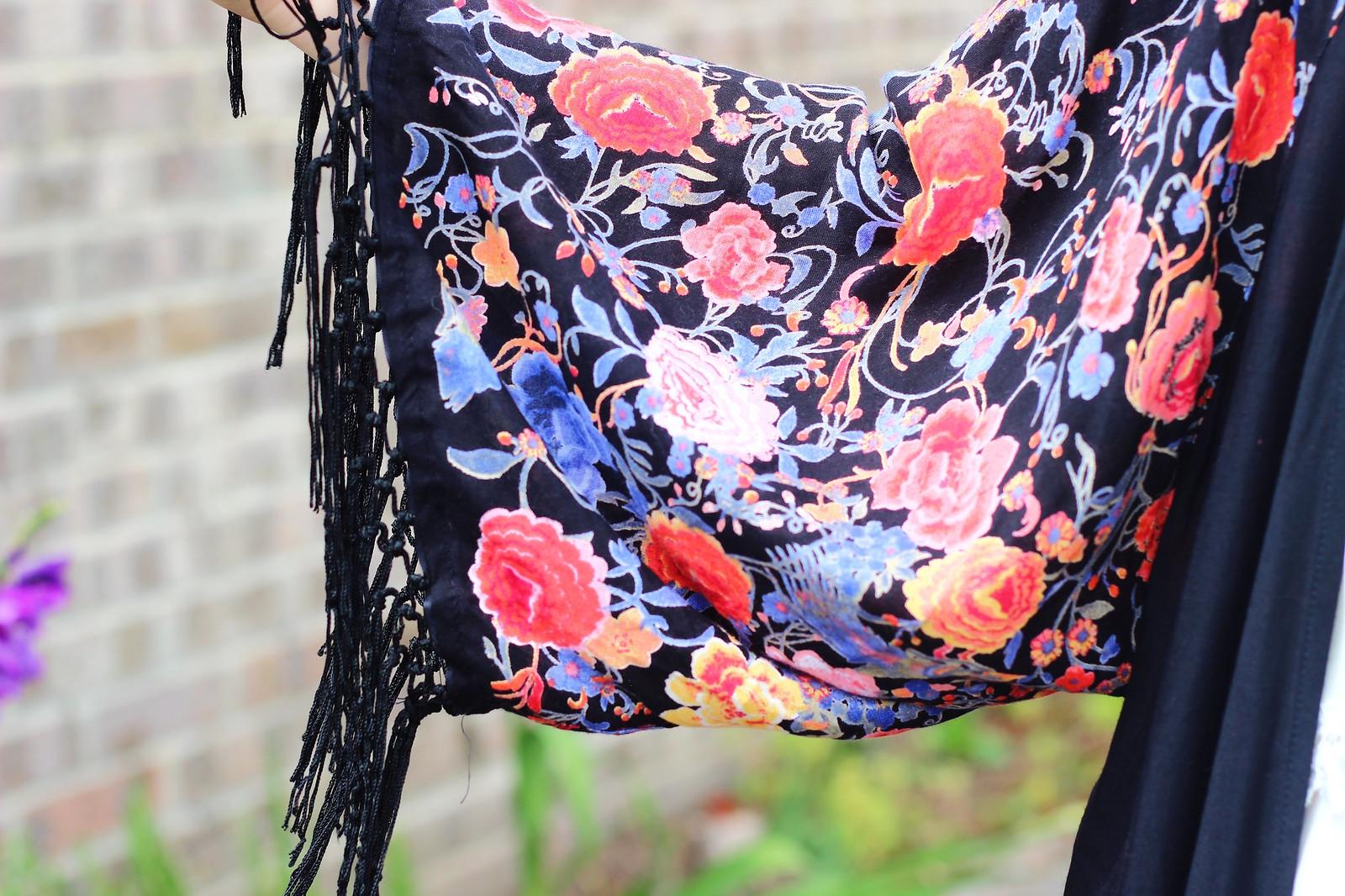 6primarkkimono, festival fashion, kimono, floral