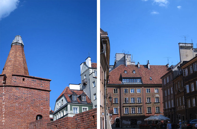 Postcards. Warsaw