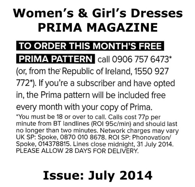 Prima Magazine - Pattern, July 2014 (04)