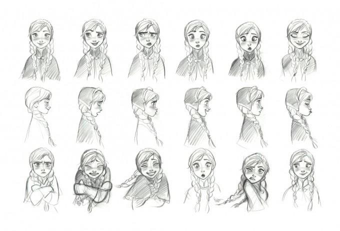 El arte conceptual de Frozen