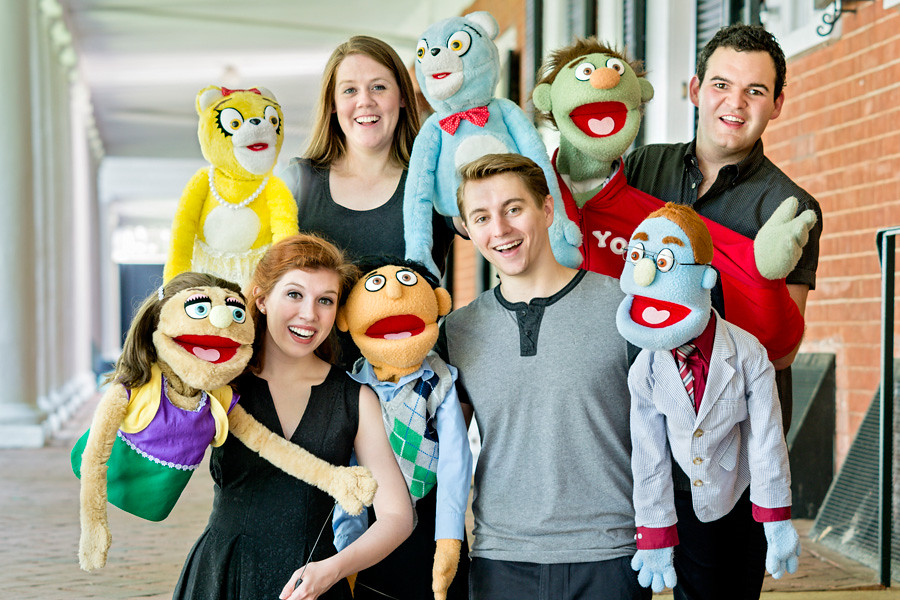 July 22, 2014 - The residents of Avenue Q take a stroll through the neighborhood sharing their fears and wisdom in Heritage Theatre Festival's production of