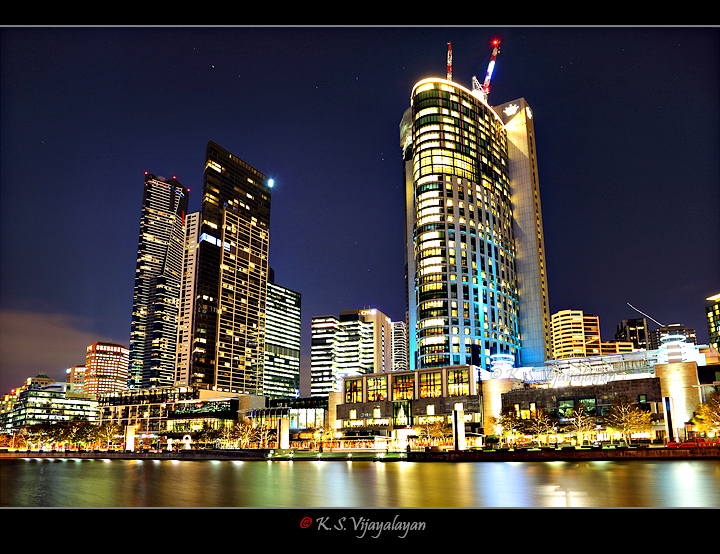 Crown casino and Eureka tower @ Melbourne