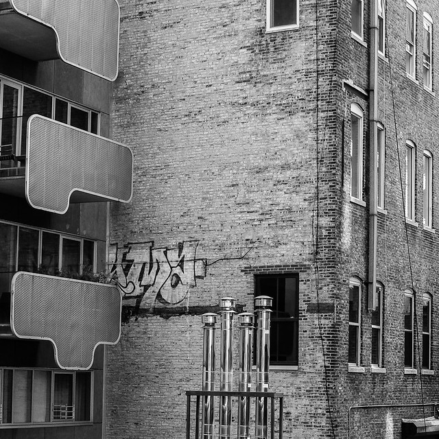 Terraces and flues