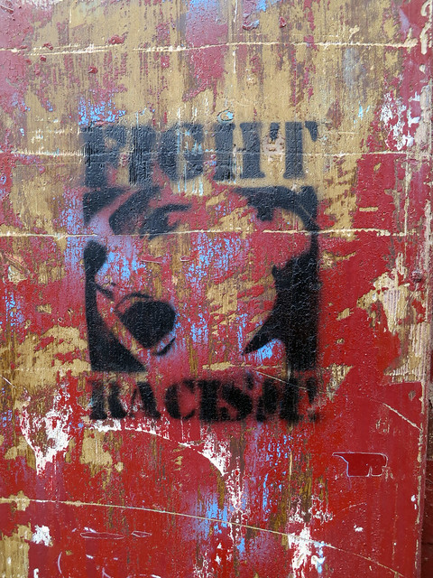 Fight Racism! from Flickr via Wylio