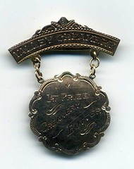 Valley Creamery medal