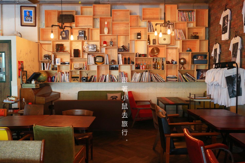 香港 火炭 Fooody 伙食工業 咖啡店 antique bookstore music cafe 懷舊 台式