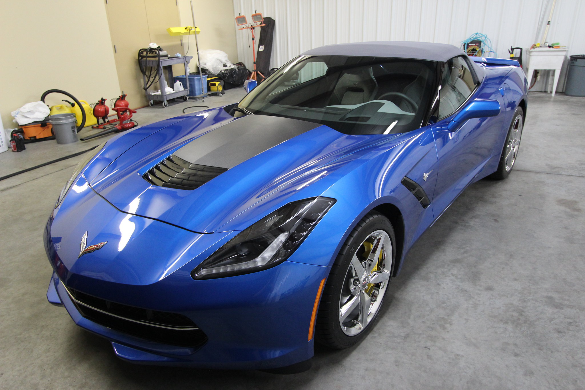 Atlanta Corvette vinyl installation