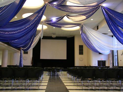 CMU Great Hall - Banquet Rectangle