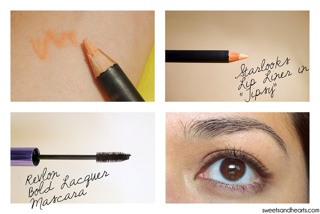 "Beauty Box 5: Revlon Bold Lacquer Mascara and Starlooks Lip Liner ""Tipsy"" Review and Swatches"